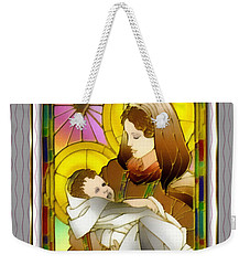 Birth Of The Christ Weekender Tote Bag