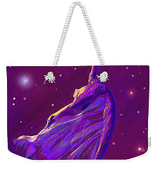 Birth Of The Cosmos Weekender Tote Bag by Jane Schnetlage