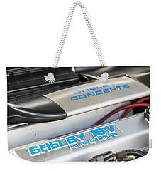 Birthday Car - Engine Bay Weekender Tote Bag