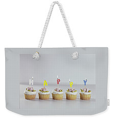 Birthday Cupcakes Weekender Tote Bag