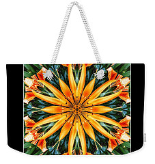 Birthday Lily For Erin Weekender Tote Bag by Nick Heap