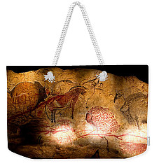Bisons Horses And Other Animals Weekender Tote Bag