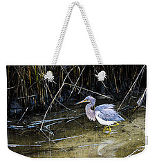Bittern At Dusk  Weekender Tote Bag