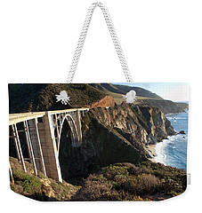 Bixby Bridge Afternoon Weekender Tote Bag