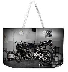 Black 2007 Honda Cbr1000rr Weekender Tote Bag