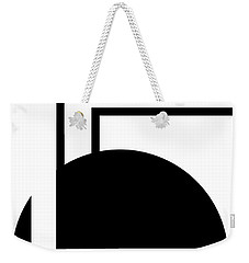 Black And White Art - 127 Weekender Tote Bag