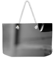 Black And White Door Handle Weekender Tote Bag