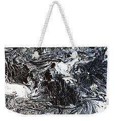 Black And White Series 3 Weekender Tote Bag