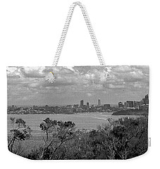 Weekender Tote Bag featuring the photograph Black And White Sydney by Miroslava Jurcik