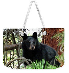 Black Bear 1 Weekender Tote Bag