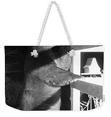 Black Bear Weekender Tote Bag by Mim White