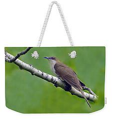Black-billed Cuckoo Weekender Tote Bag by Tony Beck