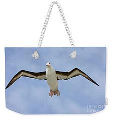 Black-browed Albatross Flying Weekender Tote Bag
