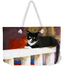 Black Cat In Color Series 2 Weekender Tote Bag