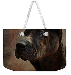 Black Chinese Shar-pei Weekender Tote Bag