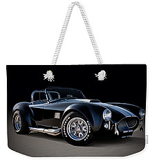 Black Cobra Weekender Tote Bag
