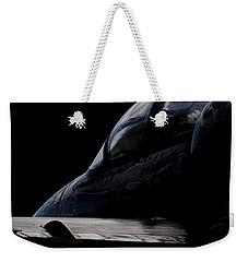 Black Cockpit Weekender Tote Bag by Paul Job