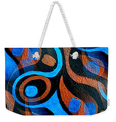 Black Coffee Abstract Weekender Tote Bag