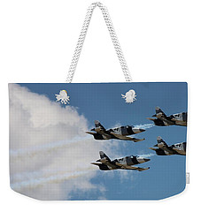Black Diamond L-39s In Flight Weekender Tote Bag