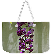 Black Dragon Wisteria Weekender Tote Bag