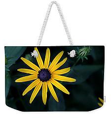 Black-eyed Susan Weekender Tote Bag by William Tanneberger