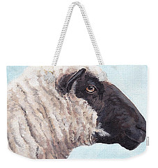 Black Face Sheep Weekender Tote Bag