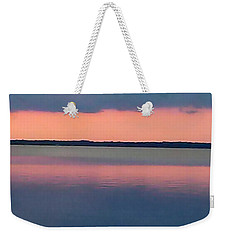 Black Hammock Sunset Weekender Tote Bag
