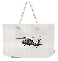 Black Hawk  Weekender Tote Bag by Ray Warren
