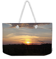 Weekender Tote Bag featuring the photograph Black Hills Sunset IIi by Cathy Anderson