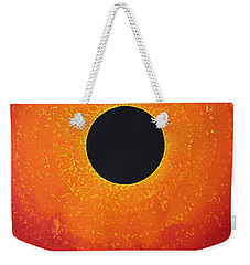Black Hole Sun Original Painting Weekender Tote Bag