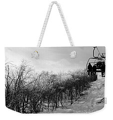 Black Ice Weekender Tote Bag by Barbara Bardzik