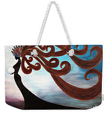 Black Magic Woman Weekender Tote Bag