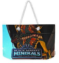 Black Market Minerals Weekender Tote Bag