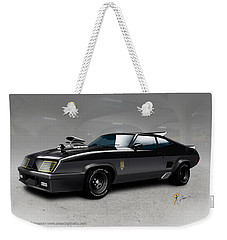 Black On Black Weekender Tote Bag