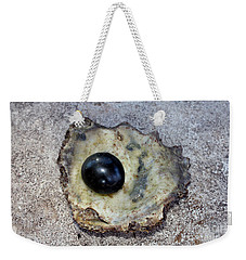 Weekender Tote Bag featuring the photograph Black Pearl by Sergey Lukashin