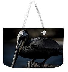 Black Pelican Weekender Tote Bag