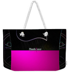 Black Pink Luv Weekender Tote Bag