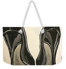 Black Pumps Weekender Tote Bag