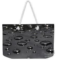 Black Rain Weekender Tote Bag