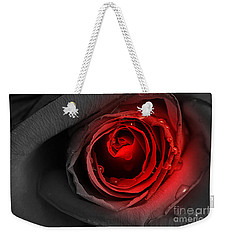 Black Rose Weekender Tote Bag