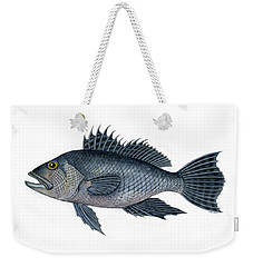 Black Sea Bass 3 Weekender Tote Bag