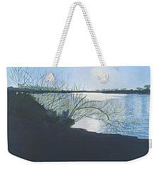 Black Swan Lake Weekender Tote Bag
