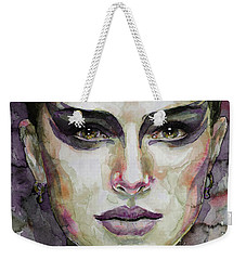 Black Swan Weekender Tote Bag by Laur Iduc