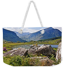 Weekender Tote Bag featuring the photograph Black Valley Killarney Ireland by Jane McIlroy