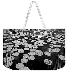 Black Water Weekender Tote Bag