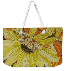 Blackeyed Susans And Butterfly Weekender Tote Bag