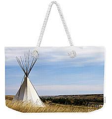 Blackfoot Teepee Weekender Tote Bag by Alyce Taylor