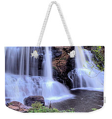 Weekender Tote Bag featuring the photograph Blackwater Falls by Gordon Elwell