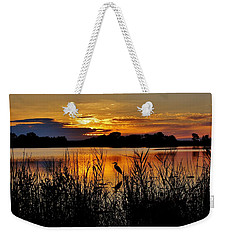 Blackwater Morning Weekender Tote Bag by Robert Geary