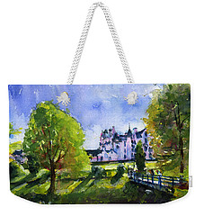 Blair Castle Bridge Scotland Weekender Tote Bag